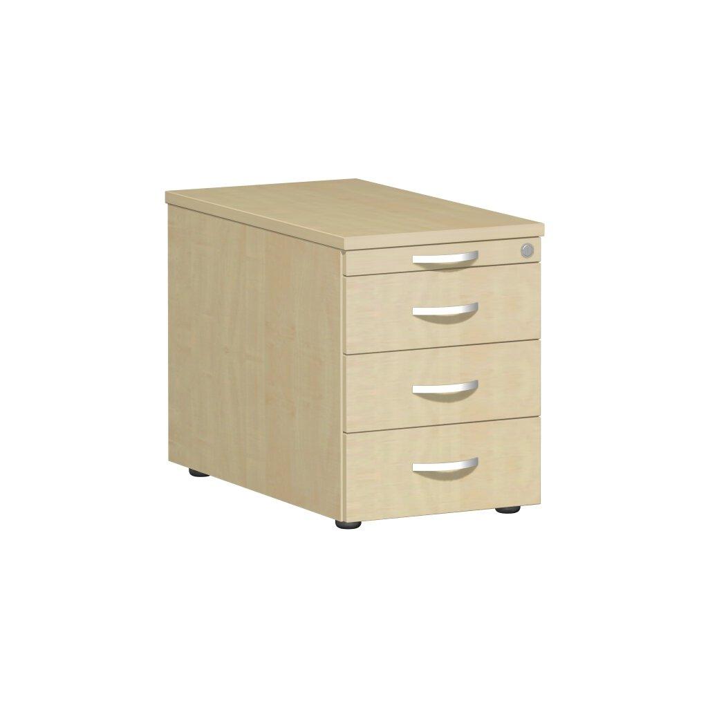 rollcontainer 80 cm tief mit 3 schubladen 337 00. Black Bedroom Furniture Sets. Home Design Ideas