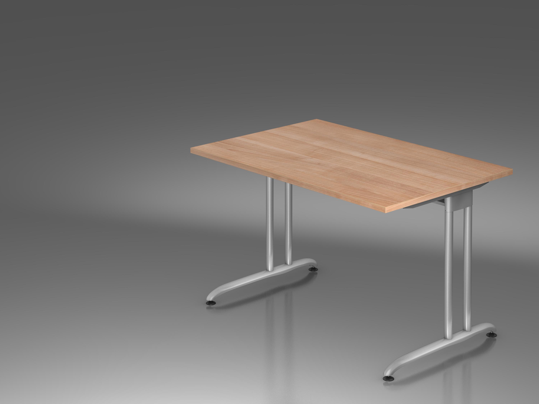 Schreibtisch serie c1 120 x 80 cm bueromoebel for Schreibtisch 1 80 m