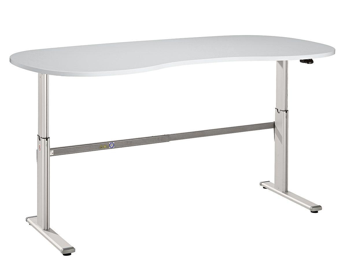 Schreibtisch serie ce3 200 x 100 cm e h henverstellbar in for Schreibtisch 200 x 60