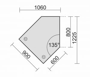 Datenanbautisch B008-R1-DT 637155 links Skizze