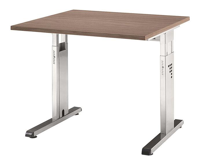Schreibtisch serie ch2 80 x 80 cm h henverstellbar for Schreibtisch 90x60