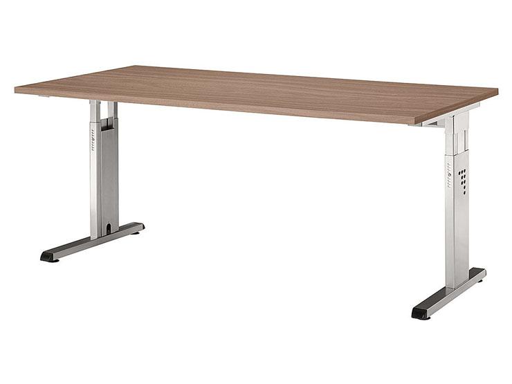 Schreibtisch serie ch2 160 x 80 cm h henverstellbar for Schreibtisch 130 x 80
