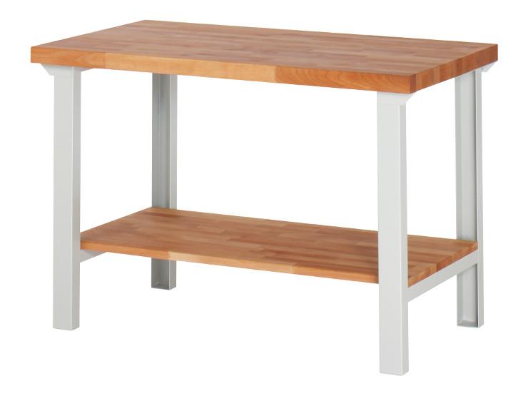 Sehr Werkbank mit Holzablageboden - Serie A QI97