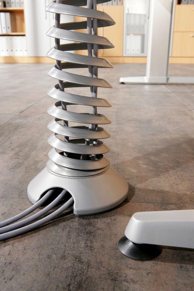elektrisch h henverstellbarer schreibtisch 200 x 100 cm. Black Bedroom Furniture Sets. Home Design Ideas