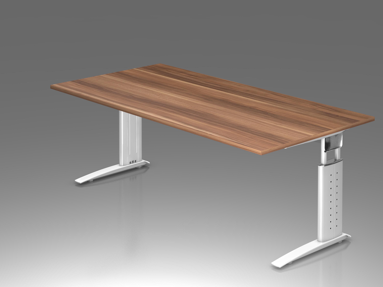 schreibtisch serie ch3 200 x 100 cm h henverstellbar. Black Bedroom Furniture Sets. Home Design Ideas