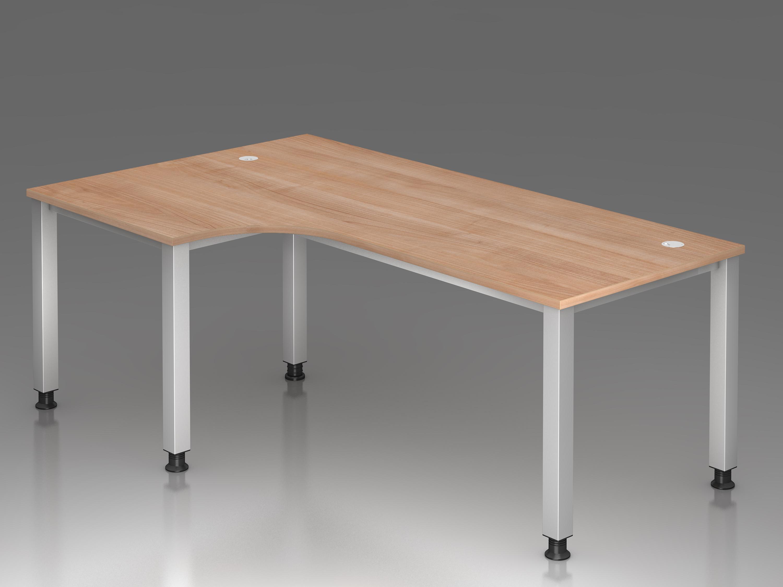 schreibtisch serie q1 200 x 120 cm h henverstellbar. Black Bedroom Furniture Sets. Home Design Ideas