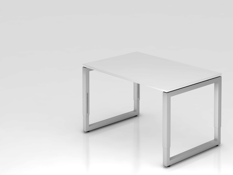 Schreibtisch serie u 120 x 80 cm h henverstellbar for U schreibtisch