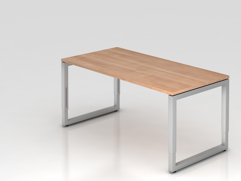 Schreibtisch serie u 160 x 80 cm h henverstellbar for U schreibtisch