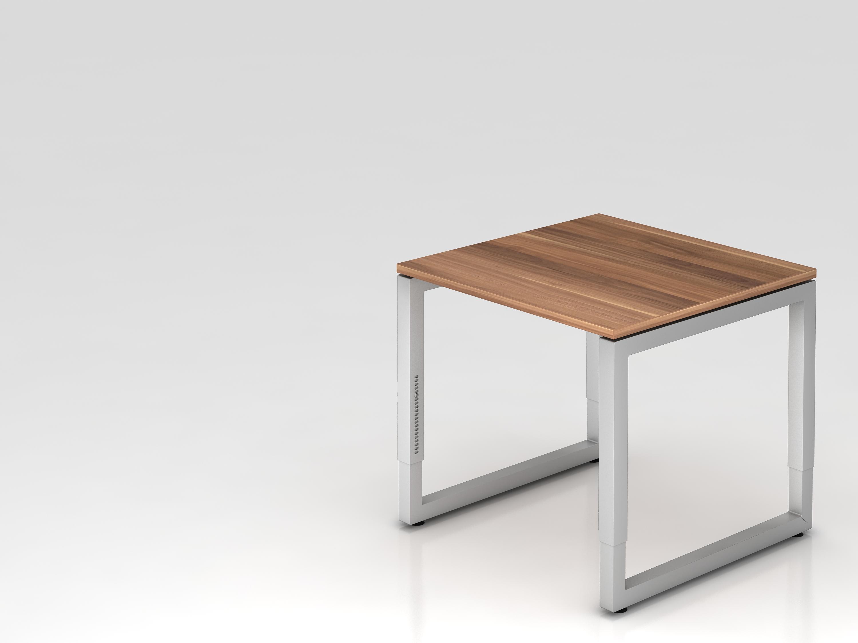 Schreibtisch serie u 80 x 80 cm h henverstellbar for U schreibtisch