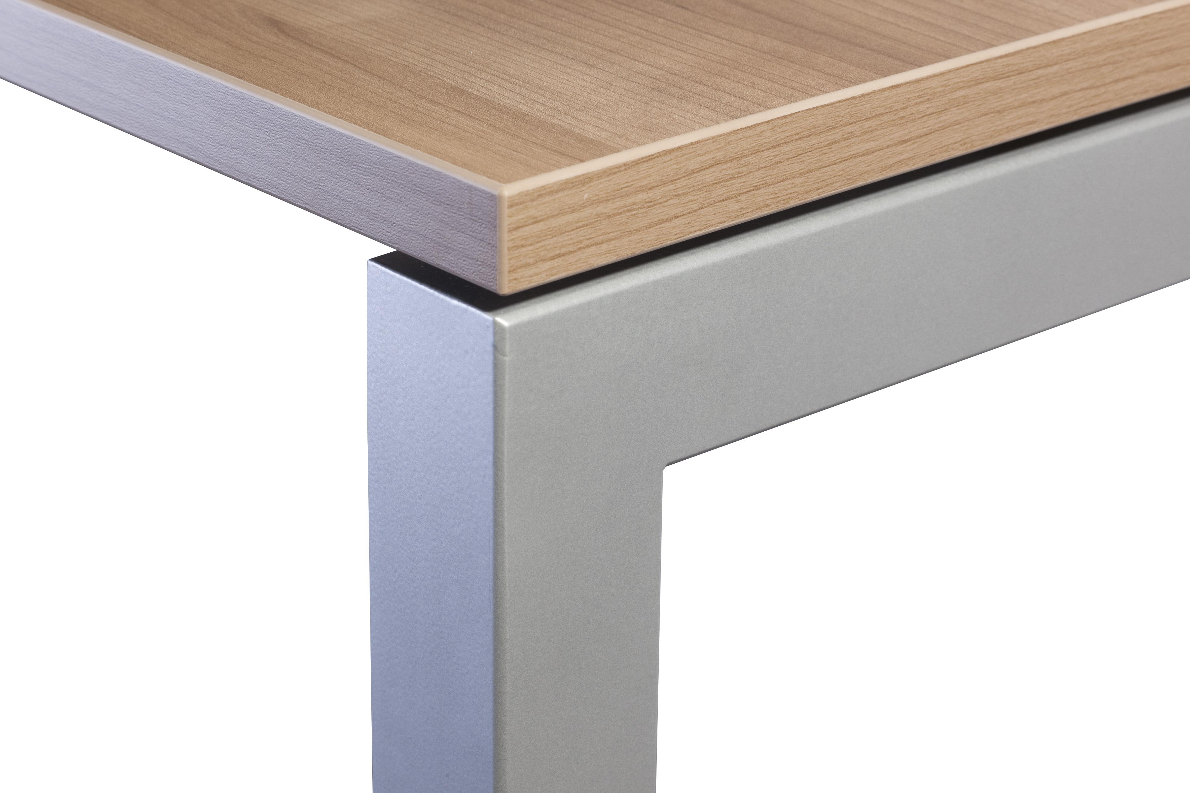 Schreibtisch serie u 120 x 80 cm h henverstellbar for Schreibtisch 50 x 120