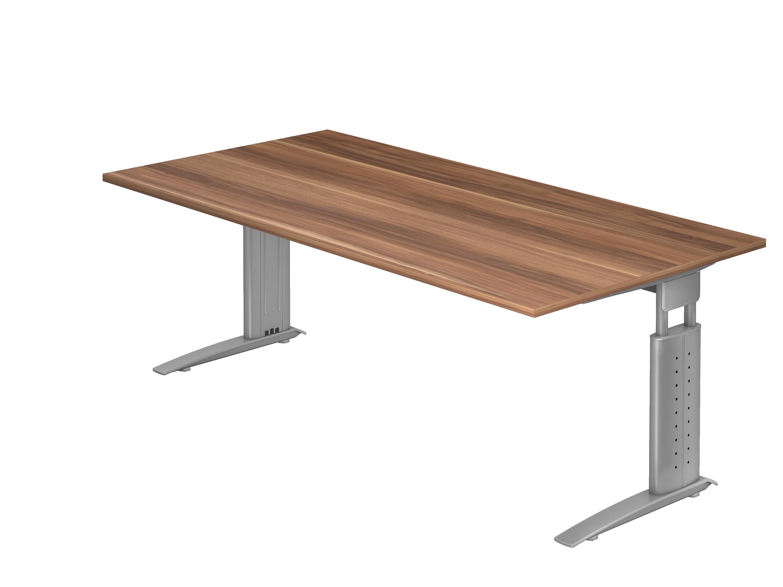 schreibtisch serie ch3 200 x 100 cm h henverstellbar bueromoebel. Black Bedroom Furniture Sets. Home Design Ideas