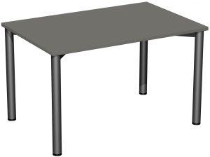 B008-R1-120 Schreibtisch 120x80 grau