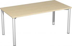 B008-R1-160x80 Schreibtisch AH