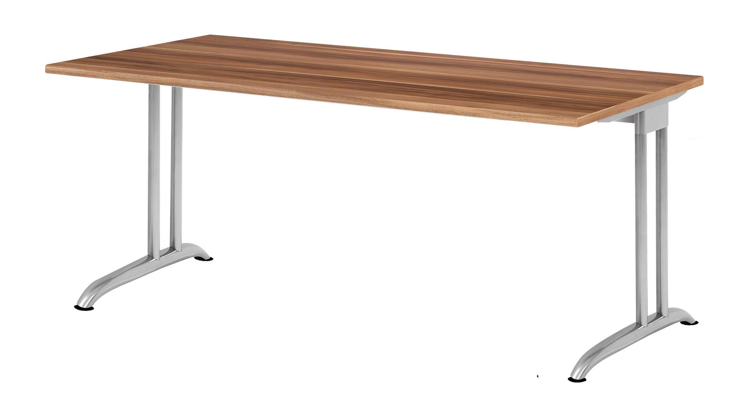 schreibtisch rechteckig 180x 80 cm bueromoebel. Black Bedroom Furniture Sets. Home Design Ideas